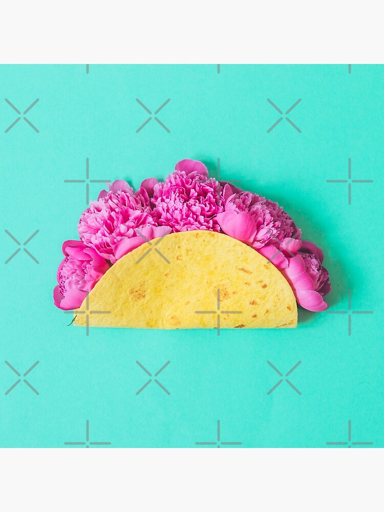 Tacos with flowers by KatyaHavok