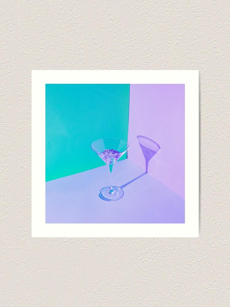 Alternate view of Cocktail glass Art Print