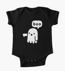 Body de manga corta para bebé Fantasma de desaprobación