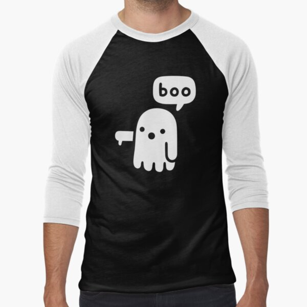 Ghost Of Disapproval Baseball ¾ Sleeve T-Shirt