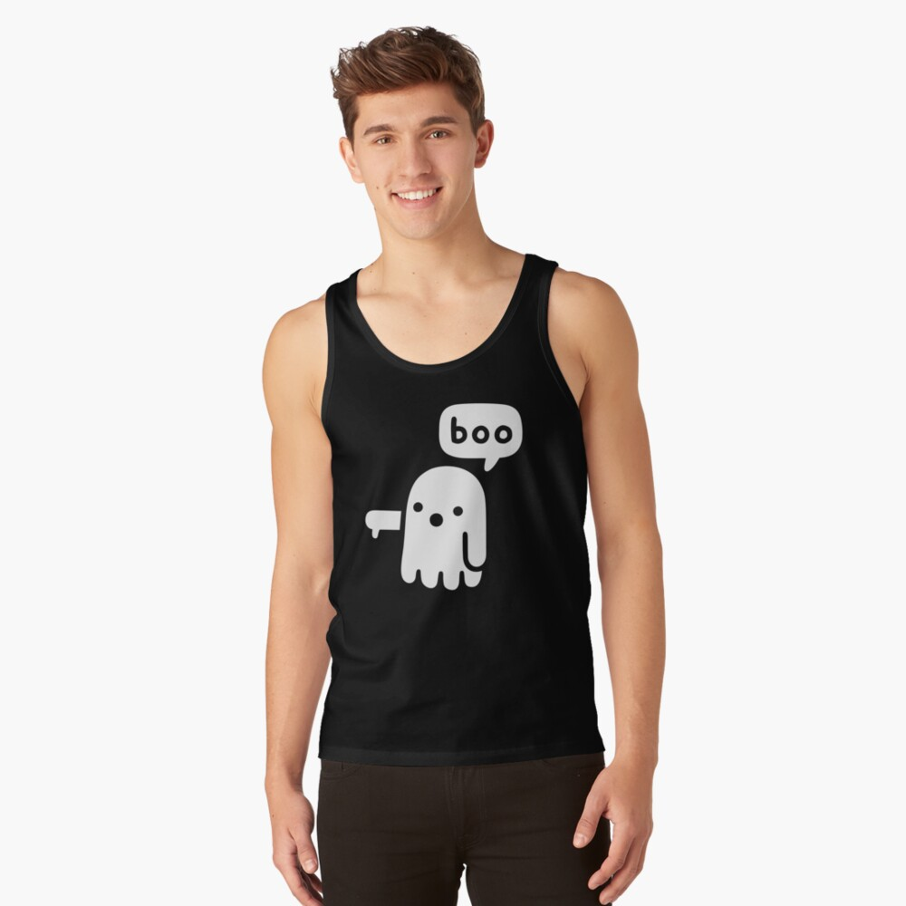 Ghost Of Disapproval Tank Top