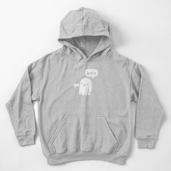 Ghost Of Disapproval Kids Pullover Hoodie