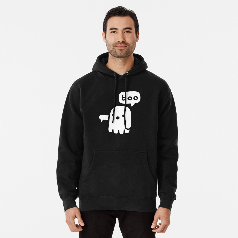 Ghost Of Disapproval Pullover Hoodie