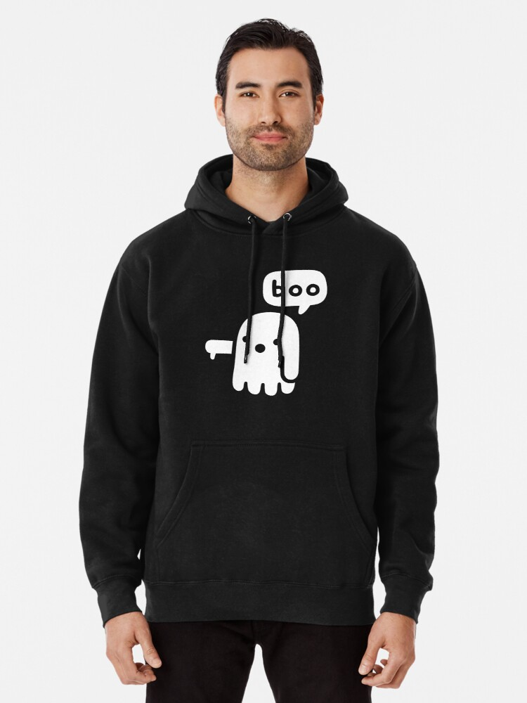 Alternate view of Ghost Of Disapproval Pullover Hoodie