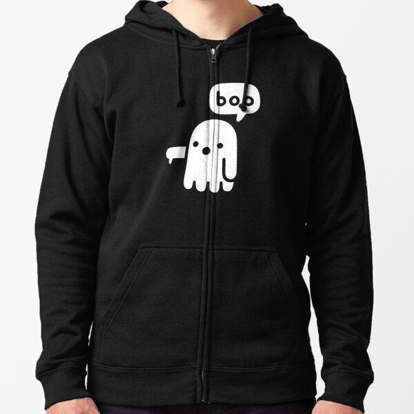 Ghost Of Disapproval Zipped Hoodie