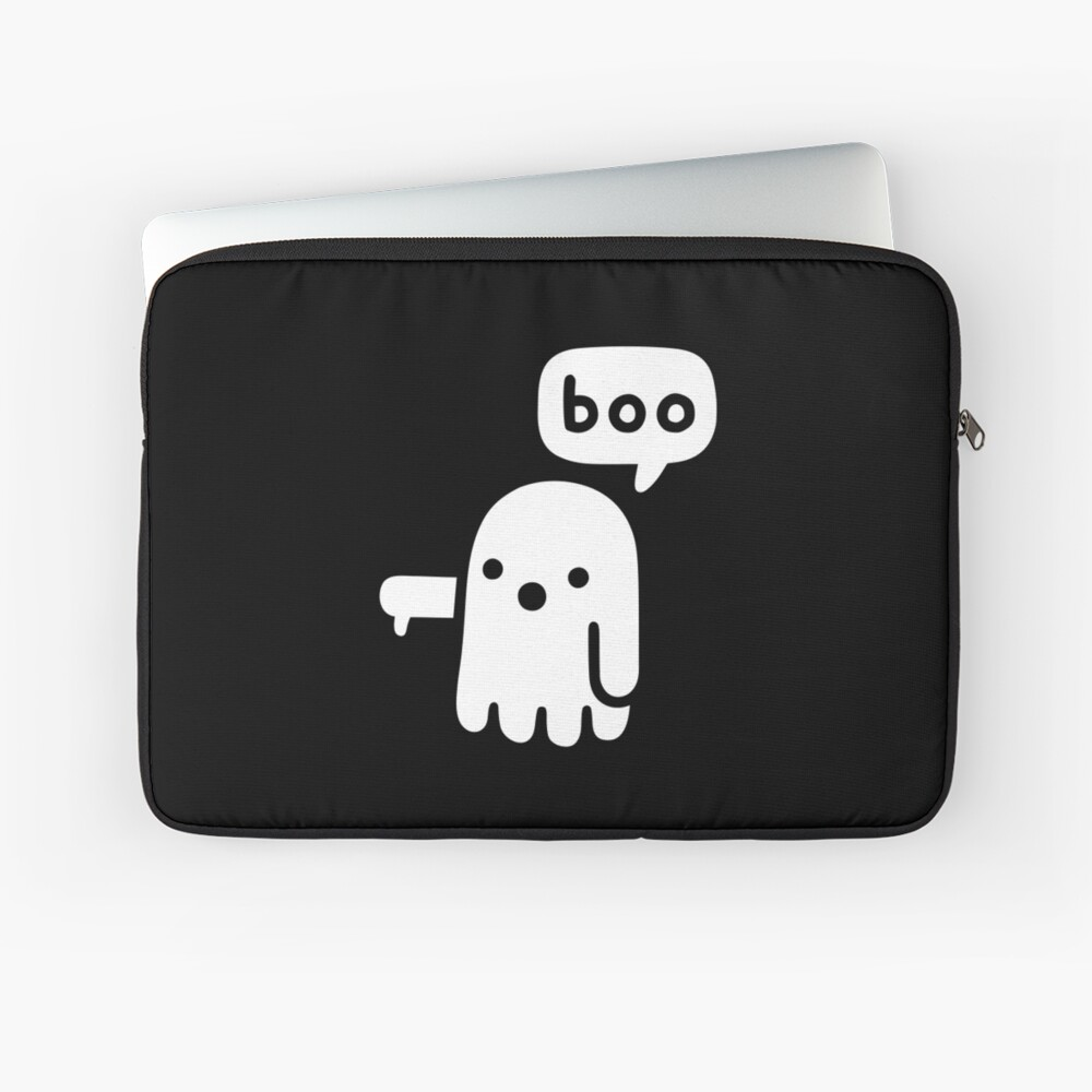 Ghost Of Disapproval Laptop Sleeve