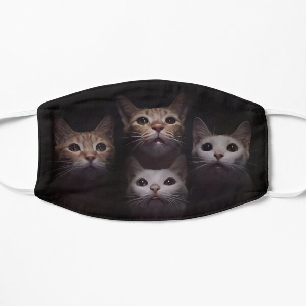 Bohemian Catsody Parody Flat Mask