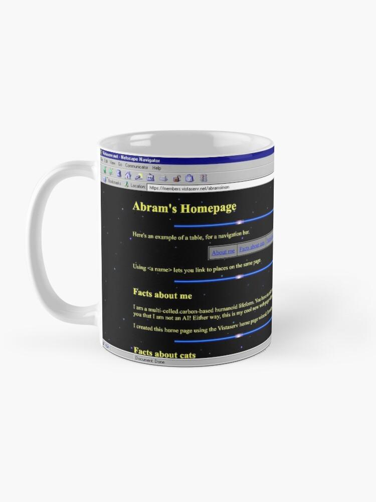 Alternate view of abramsimon on Vistaserv.net Mug