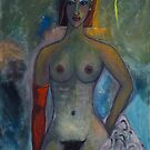 Nude With One Glove by ltruskett