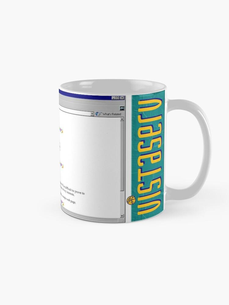 Alternate view of neil on Vistaserv.net Mug