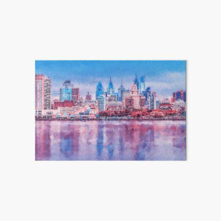 Philadelphia, Pennsylvania Art Board Print