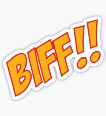 biff Sticker