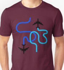planes blue Unisex T-Shirt