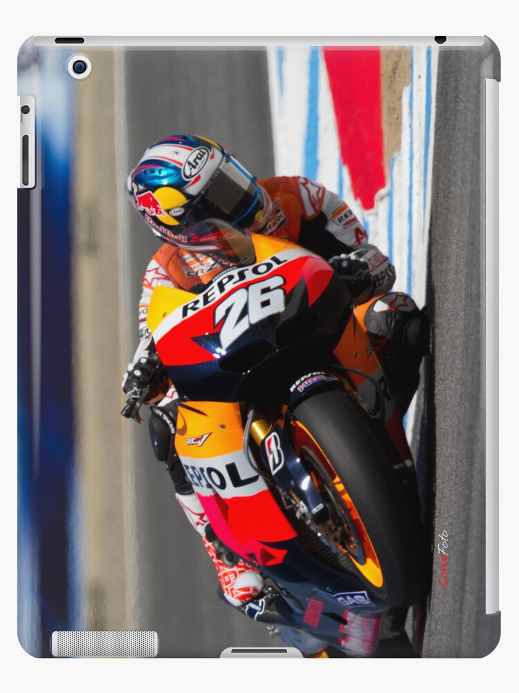 Dani Pedrosa at laguna seca 2012 by corsefoto