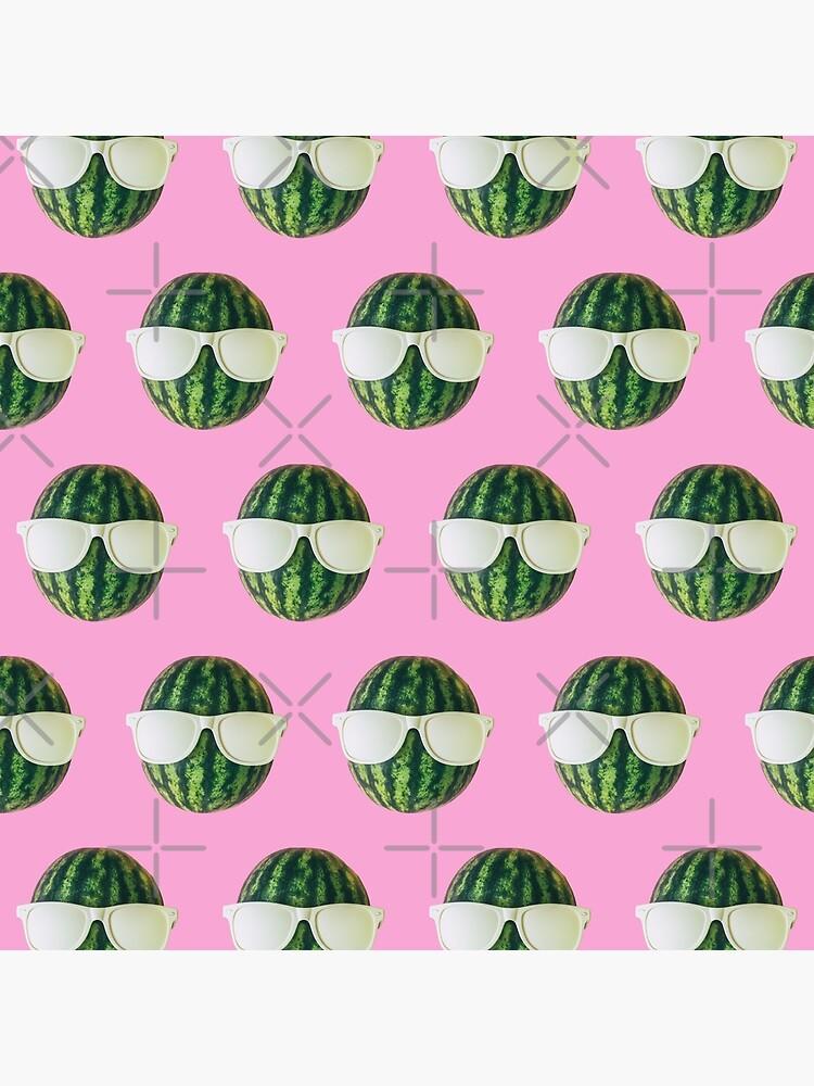 Watermelon heads in sunglasses by KatyaHavok