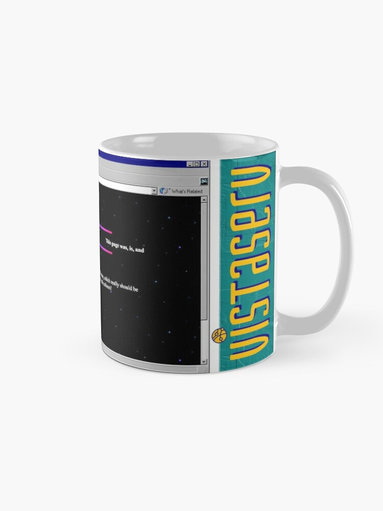 Alternate view of blah on Vistaserv.net Mug