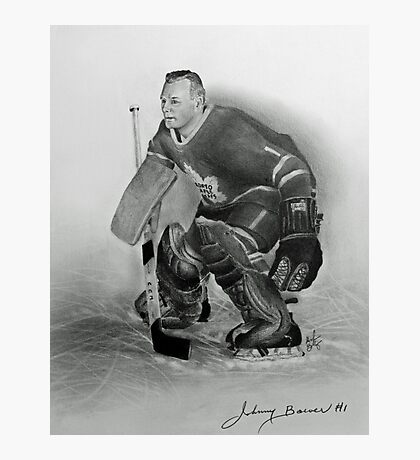 Johnny Bower Photographic Print
