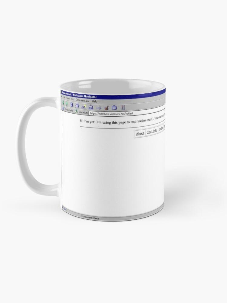 Alternate view of yottest on Vistaserv.net Mug