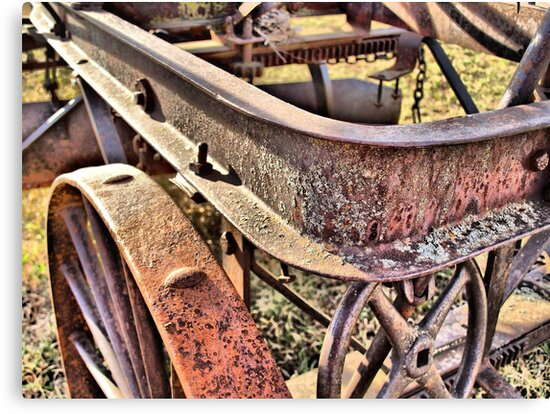 Old and Rusty by Scott Hendricks