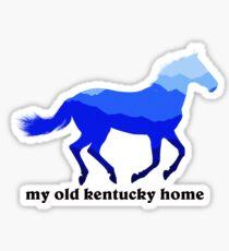 Kentucky Horse Sticker