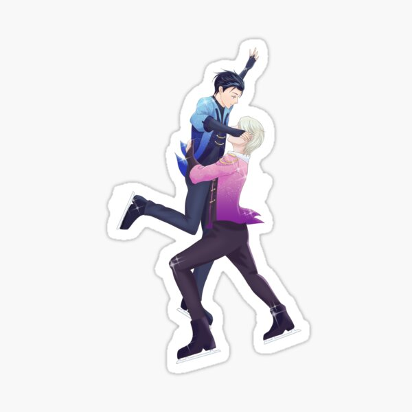 Yuri on Ice Fanart Sticker