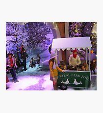 Lord & Taylor Holiday Windows, New York Photographic Print