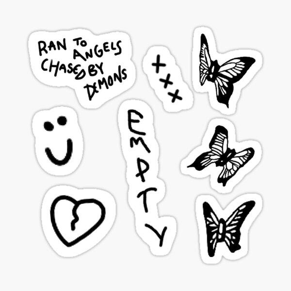 Tatuajes de Jaden Hossler Pegatina