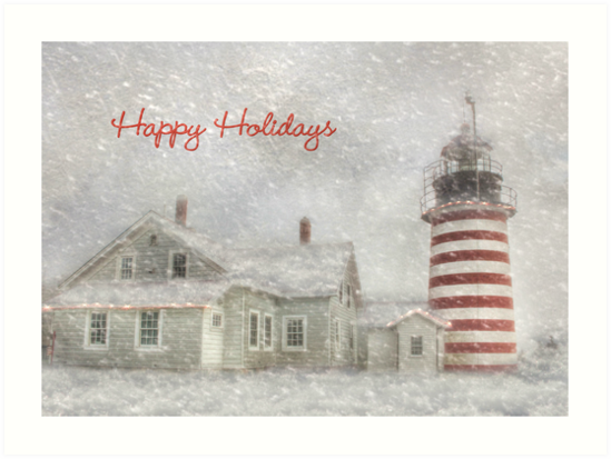 West Quoddy Christmas by Lori Deiter