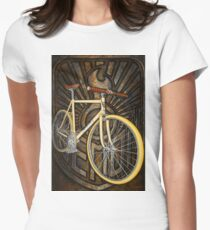 Demon path racer bicycle Womens Fitted T-Shirt
