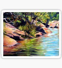 Jellybean Pool, Blue Mountains Sticker