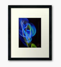 ©NLE Green Blue II Framed Print
