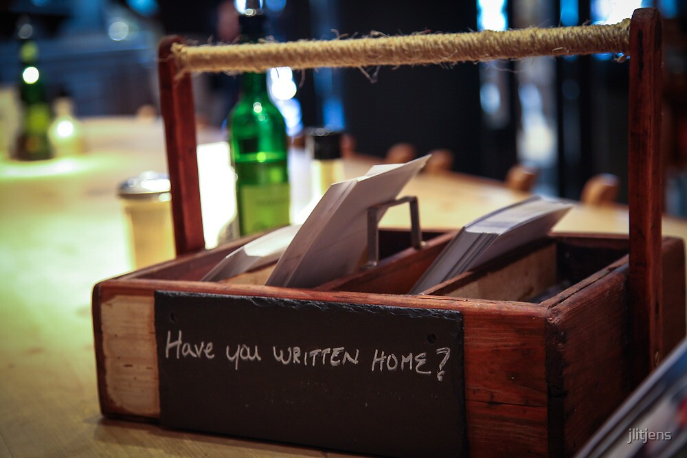 Time to write home by jlitjens
