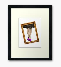 Hot Shoes - Purple! Framed Print