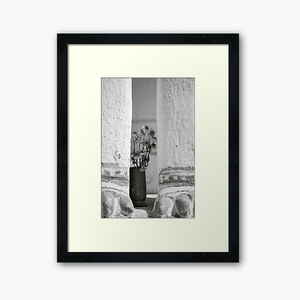 Burmese Offering  Framed Art Print