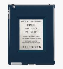Police Box iPad Case/Skin