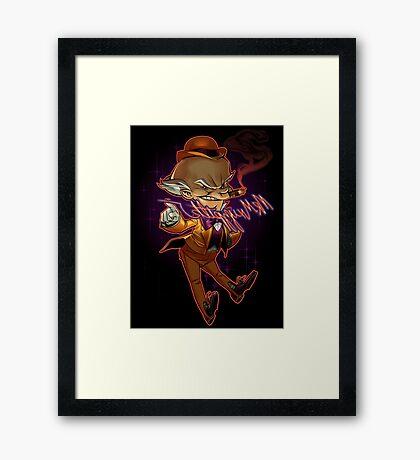 Mr. Mxyzptlk Framed Print