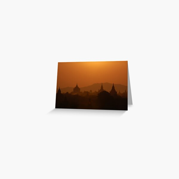 Stunning Sunset Greeting Card