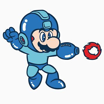 Mega Mario by Italiux