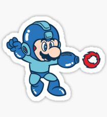 Mega Mario Sticker