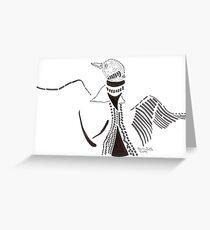 Rising Loon Greeting Card