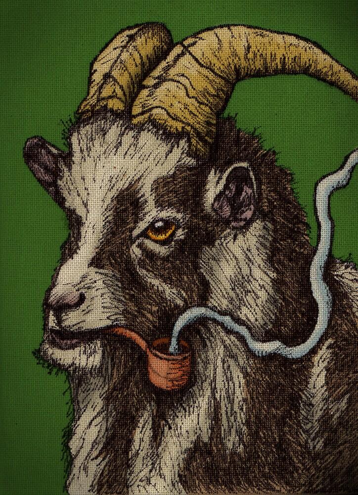 Puff Puff Goat Goat by JSchultz