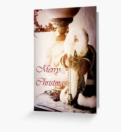 An Old Fashioned Christmas - card Greeting Card