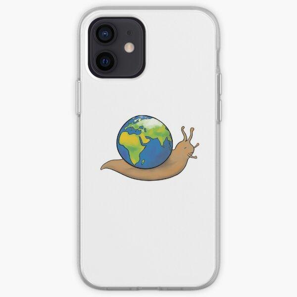 Snail Planet iPhone Soft Case