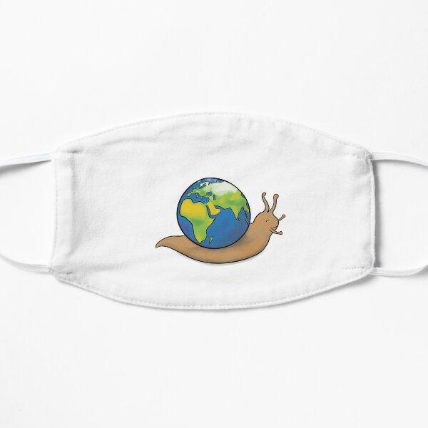 Planète escargot Masque sans plis