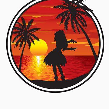 Hawaiian Sunset by mjmew
