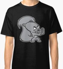 Fighting Squirrel Classic T-Shirt