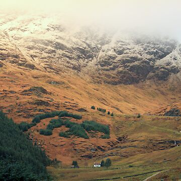 Rest and Be Thankful Scottish Landscape by simpsonvisuals