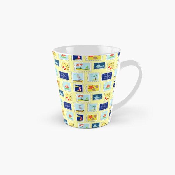 Stamps. Vector pattern. Tall Mug