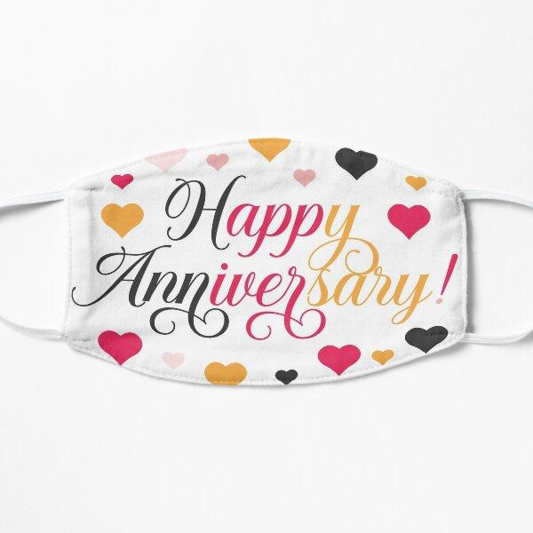 Happy Anniversary Gift Flat Mask