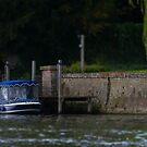 Day Boat Tilt Shift by Jay Taylor